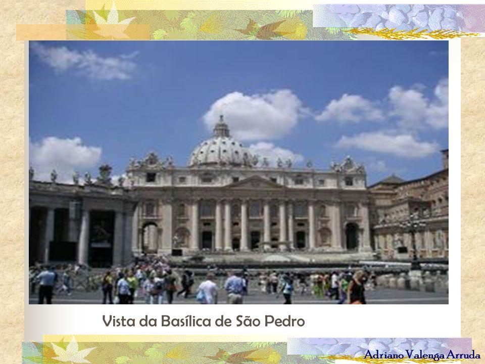 Adriano Valenga Arruda Vista da Basílica de São Pedro