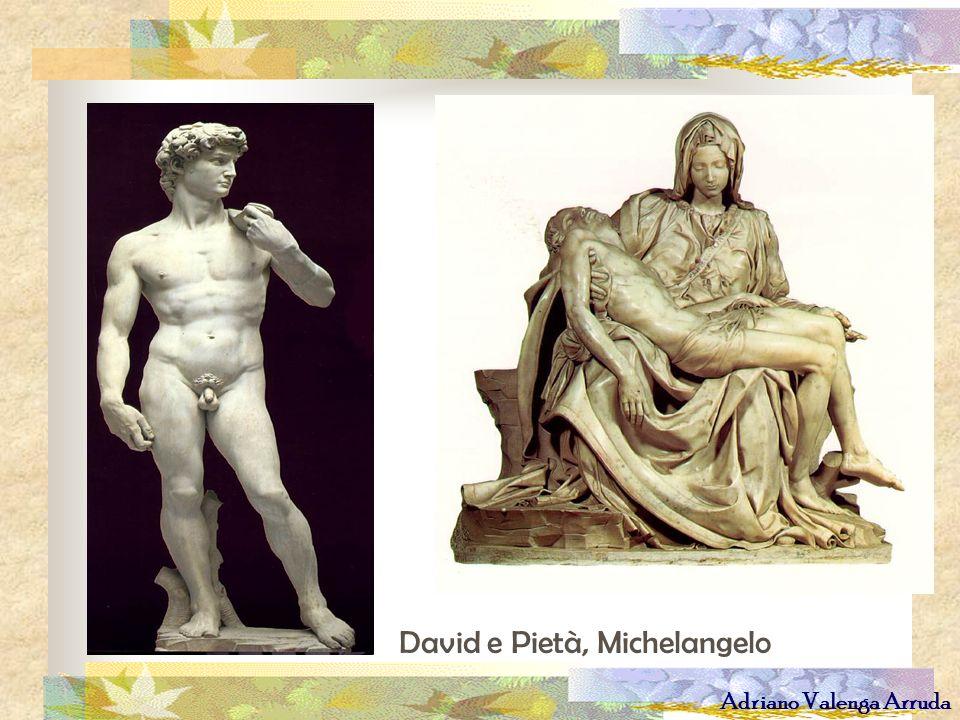 Adriano Valenga Arruda David e Pietà, Michelangelo
