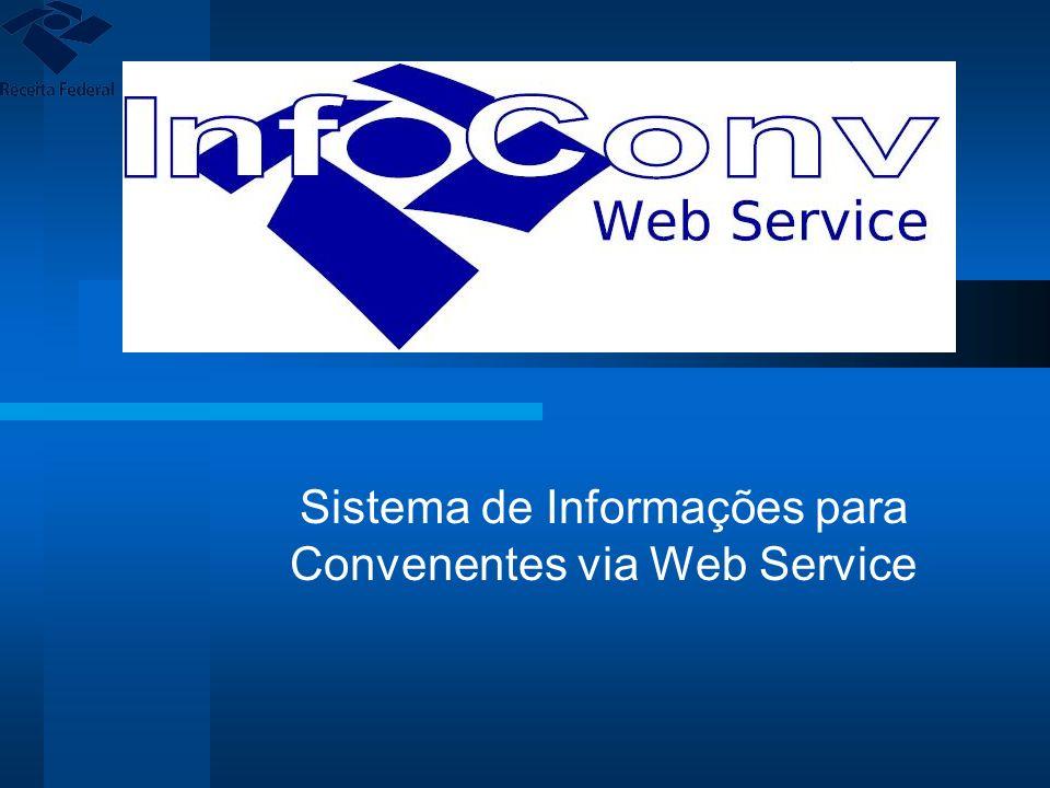 Sistema de Informações para Convenentes via Web Service