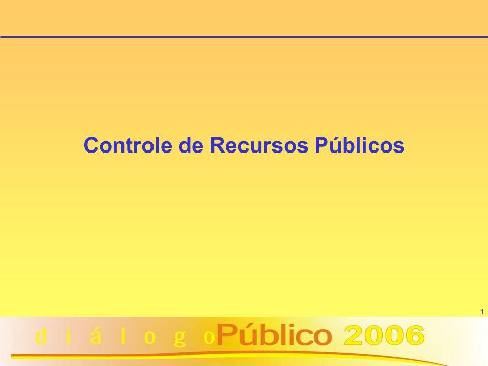 1 Controle de Recursos Públicos
