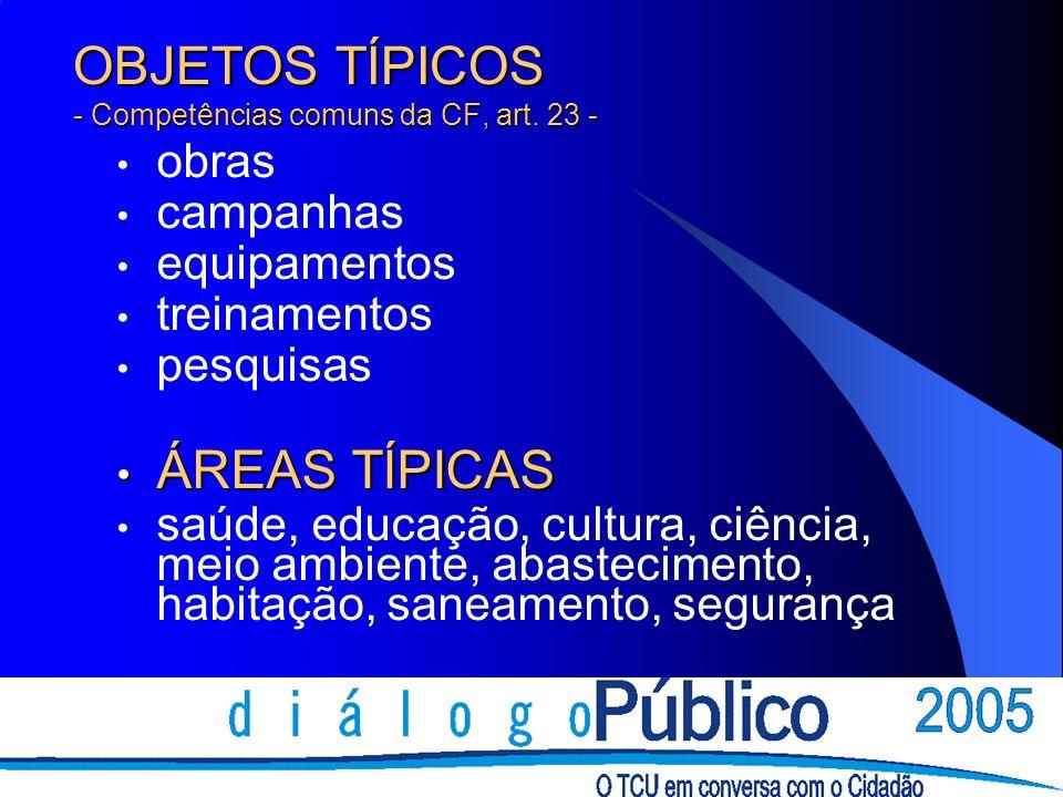 INFORMAÇÕES GERAIS www.cgu.gov.br/sfc/convenio/convenios.asp