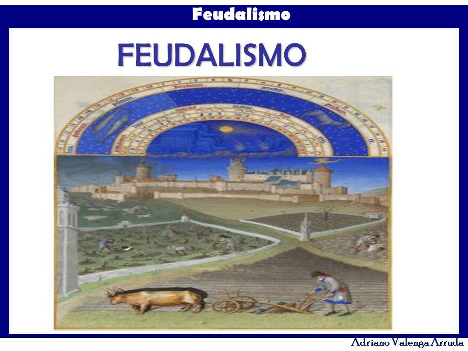 Feudalismo Adriano Valenga Arruda Como era muito rica em terras, a Igreja criou em 1074 o Celibato clerical para manter o seu patrimônio, evitando a divisão entre possíveis herdeiros dos membros do clero.