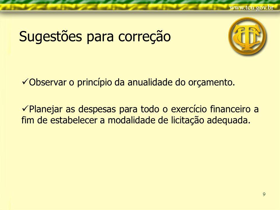 Clique para editar o estilo do título mestre Clique para editar os estilos do texto mestre Segundo nível Terceiro nível Quarto nível Quinto nível 9 Observar o princípio da anualidade do orçamento.