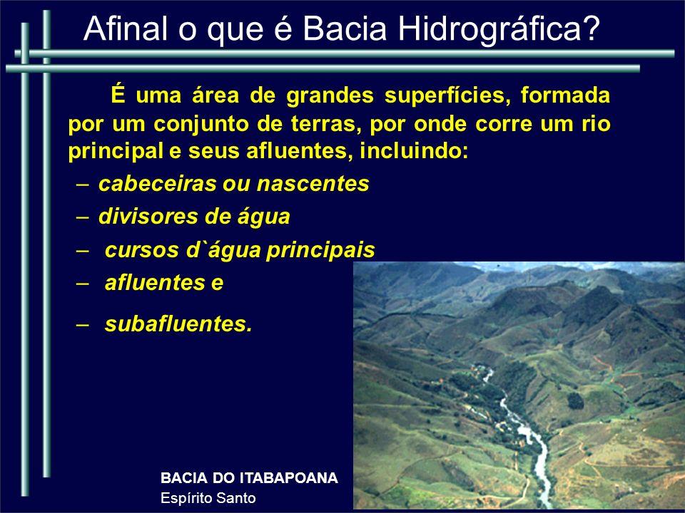 CONCEITO DE RIO Em termos geomorfológicos, rio é uma denominação empregada somente ao fluxo canalizado e confinado.