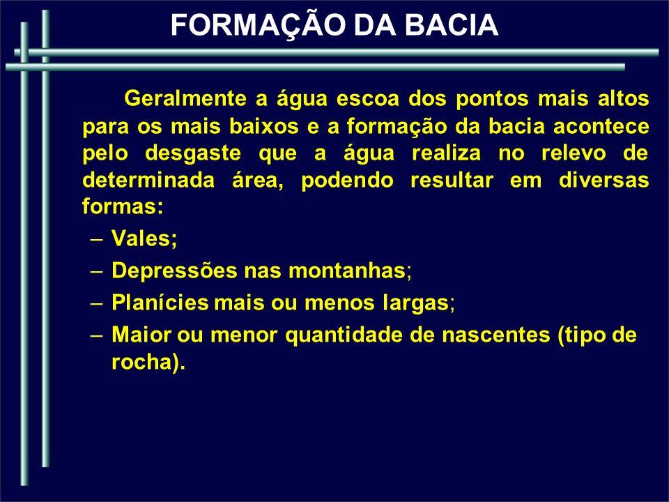 Efêmeros Perenes RIO X DISPONIBILIDADE DE ÁGUA
