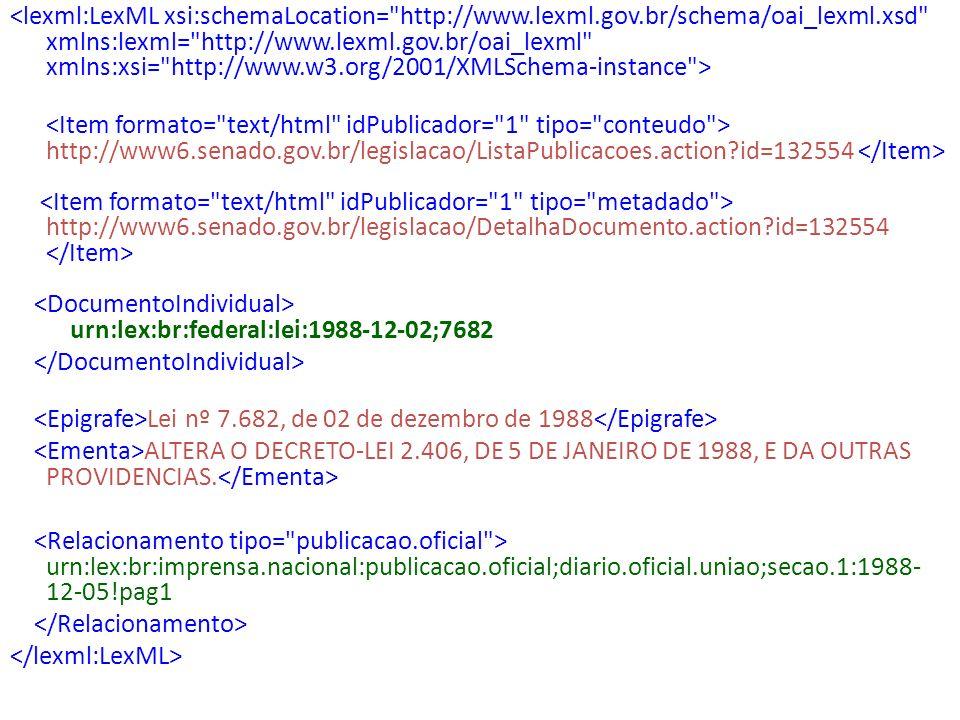 http://www6.senado.gov.br/legislacao/ListaPublicacoes.action?id=132554 http://www6.senado.gov.br/legislacao/DetalhaDocumento.action?id=132554 urn:lex: