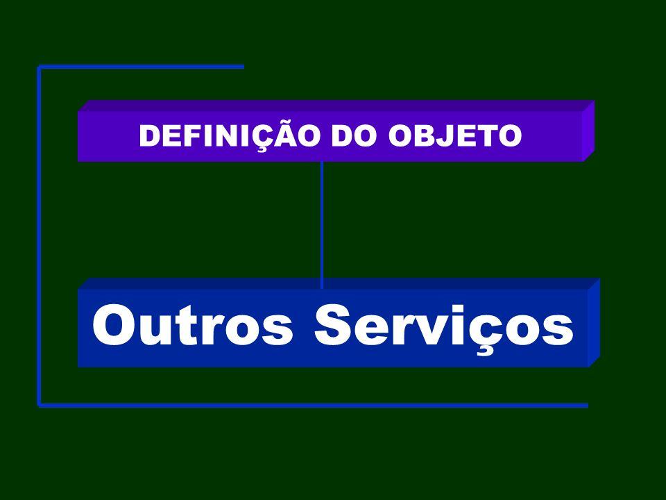 Outros Serviços DEFINIÇÃO DO OBJETO
