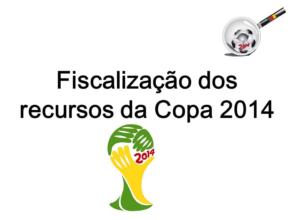 Fiscalização dos recursos da Copa 2014