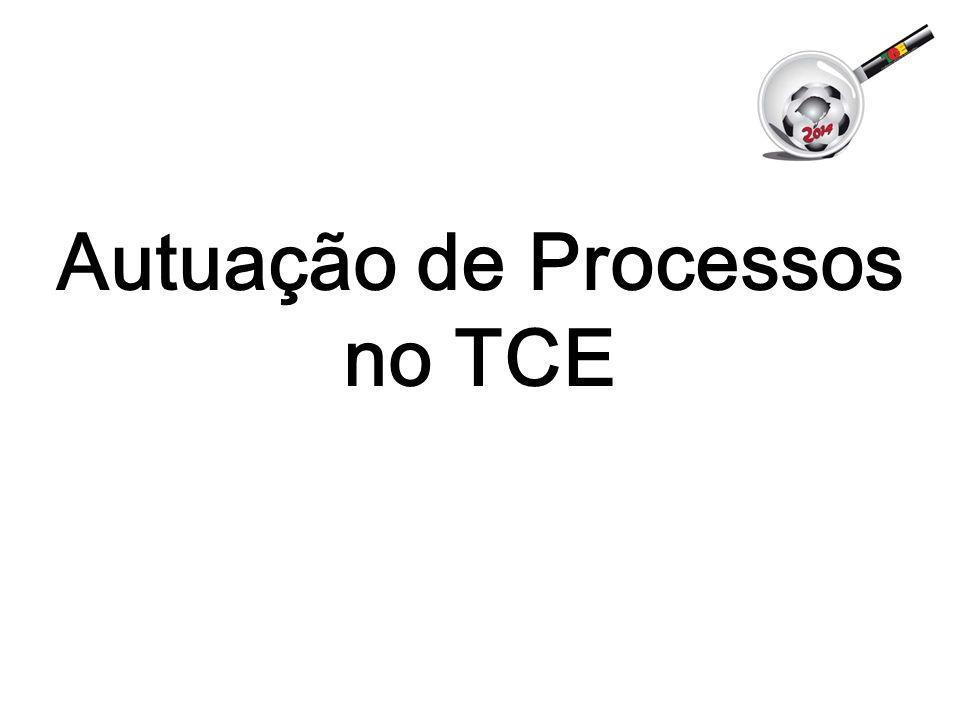 Autuação de Processos no TCE