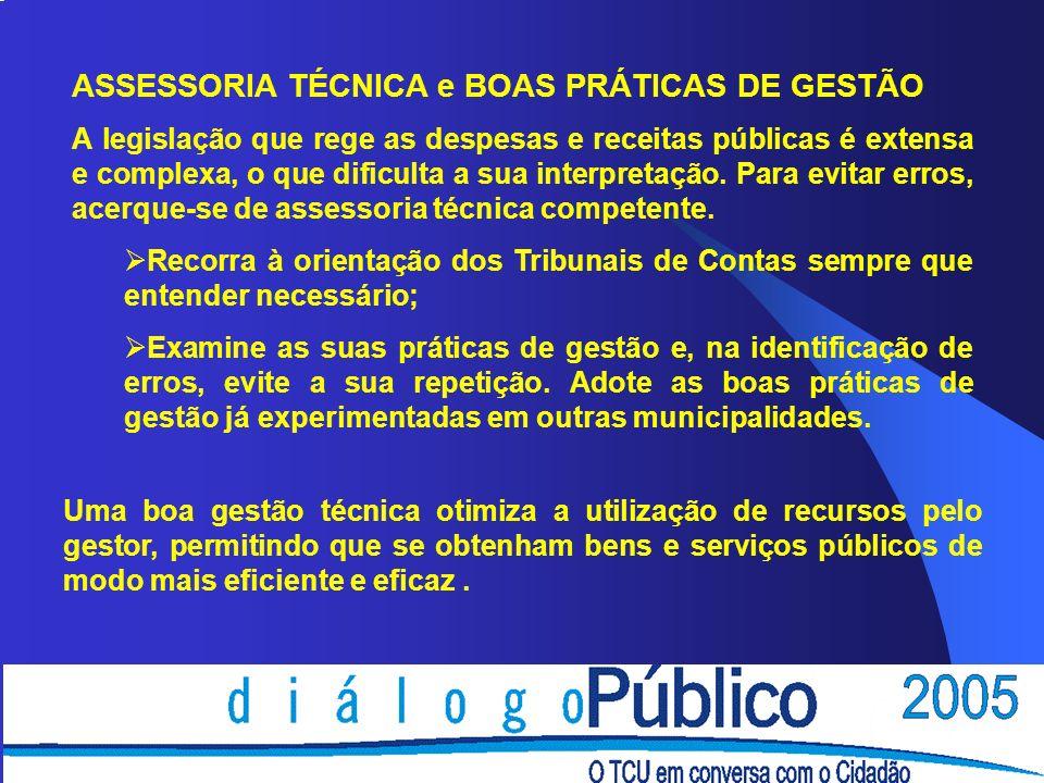 Estrutura do Controle no Brasil