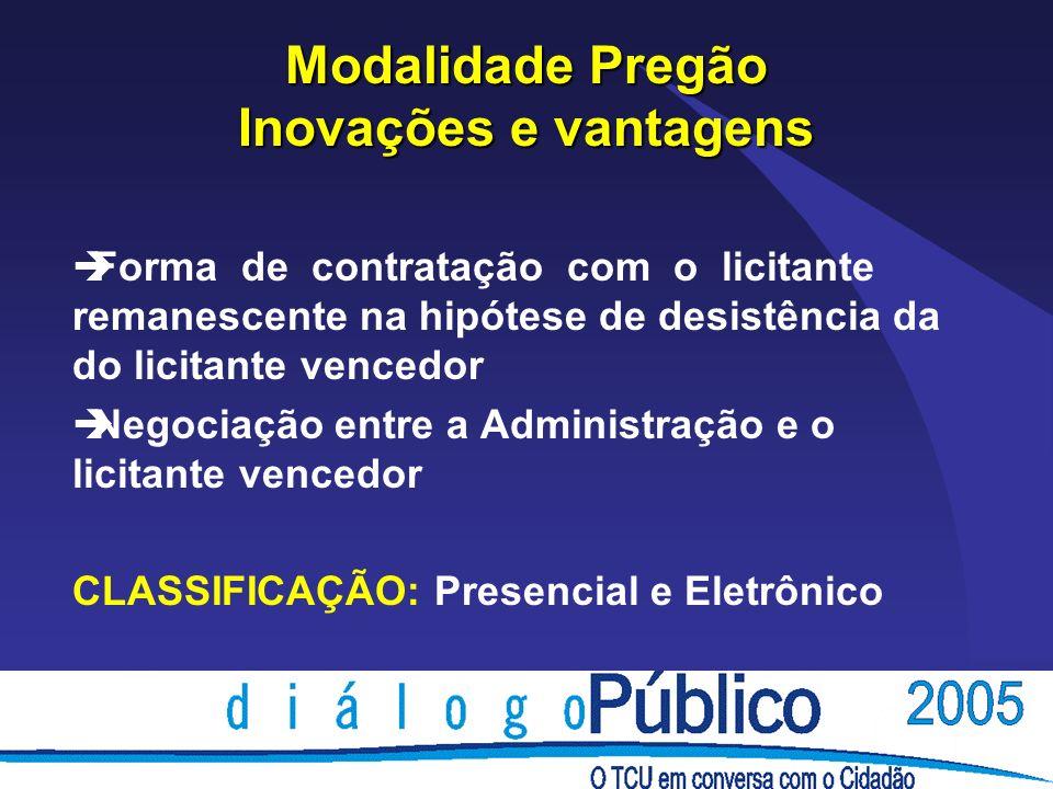 POSIÇÃO DO TCU è Decisão Plenária n° 347/1994 - Além das formalidades previstas no art.