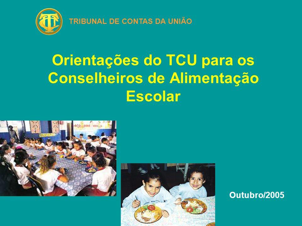 Sumário O que é o TCU .