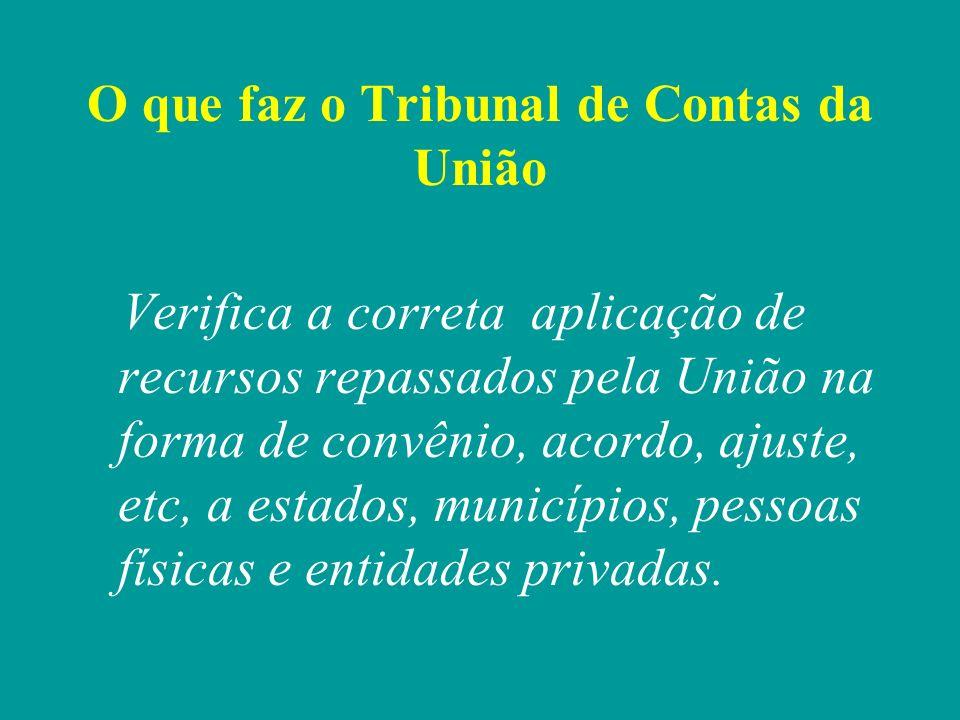 Órgão de Controle Externo ExecutivoJudiciárioLegislativo TCU Controle Interno Controle Interno Controle Interno