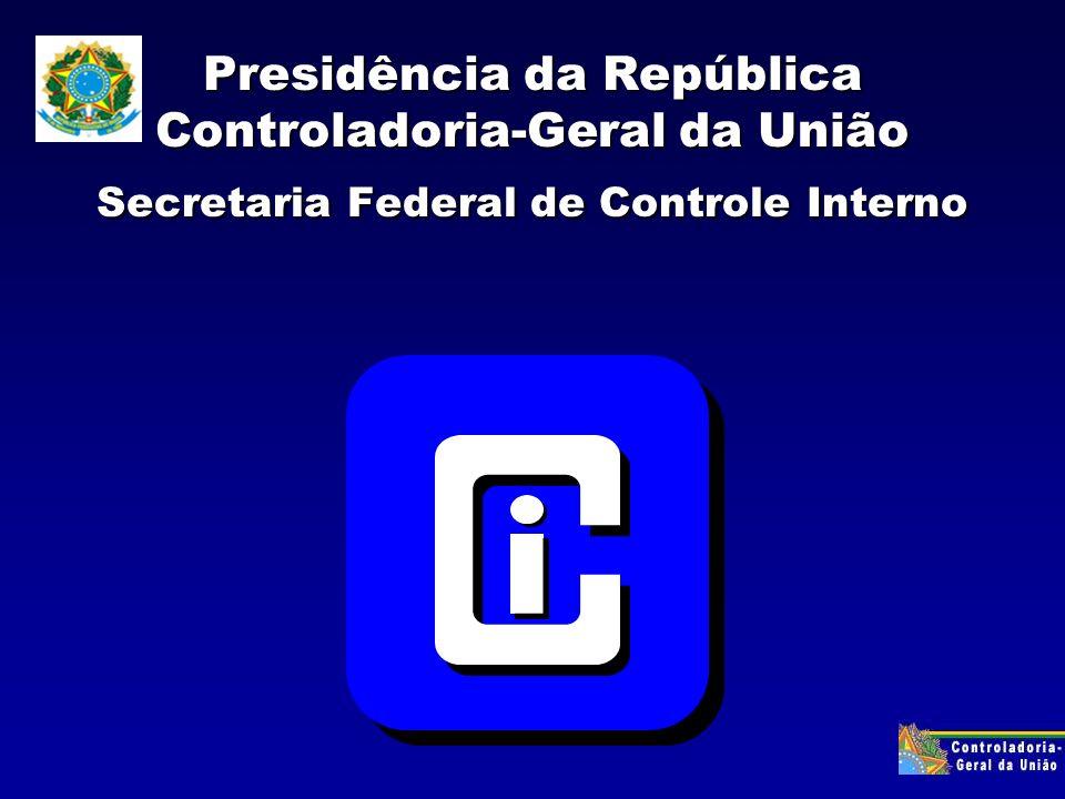 CICLO DA GESTÃO PLANEJAMENTO (PPA,LDO,LOA) Atuação CONTROLE SOCIAL SOCIEDADE EXECUÇÃO TRIBUNAIS DE CONTAS CONTROLES INTERNOS MINISTÉRIO PÚBLICO CORREGEDORIAS PODER JUDICIÁRIO RETROALIMENTAÇÃO DETERMINAÇÕES RECOMENDAÇÕES JULGAMENTOS AÇÕES JUDICIAIS AÇÕES DE CONTROLE