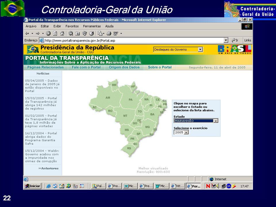 Controladoria-Geral da União 22