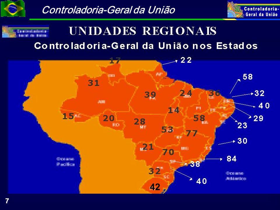 Controladoria-Geral da União 38 CGU Mobilização e Capacitação de Lideranças e Conselheiros Locais Estímulo ao Controle Social: