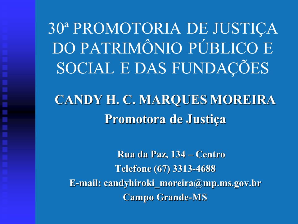 Relação do Ministério Público/ Entidade de Interesse Social Mudança de postura institucional; Atuação preventiva; Postura pró-ativa;.