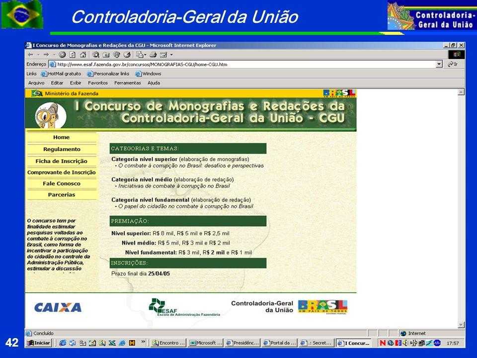 Controladoria-Geral da União 42