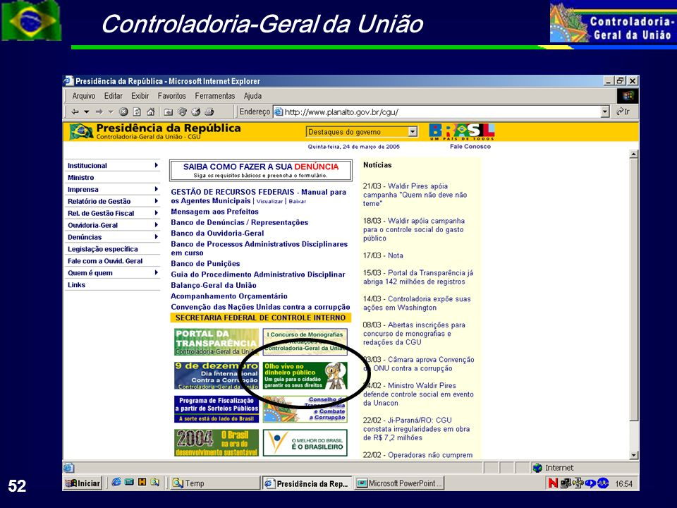 Controladoria-Geral da União 52