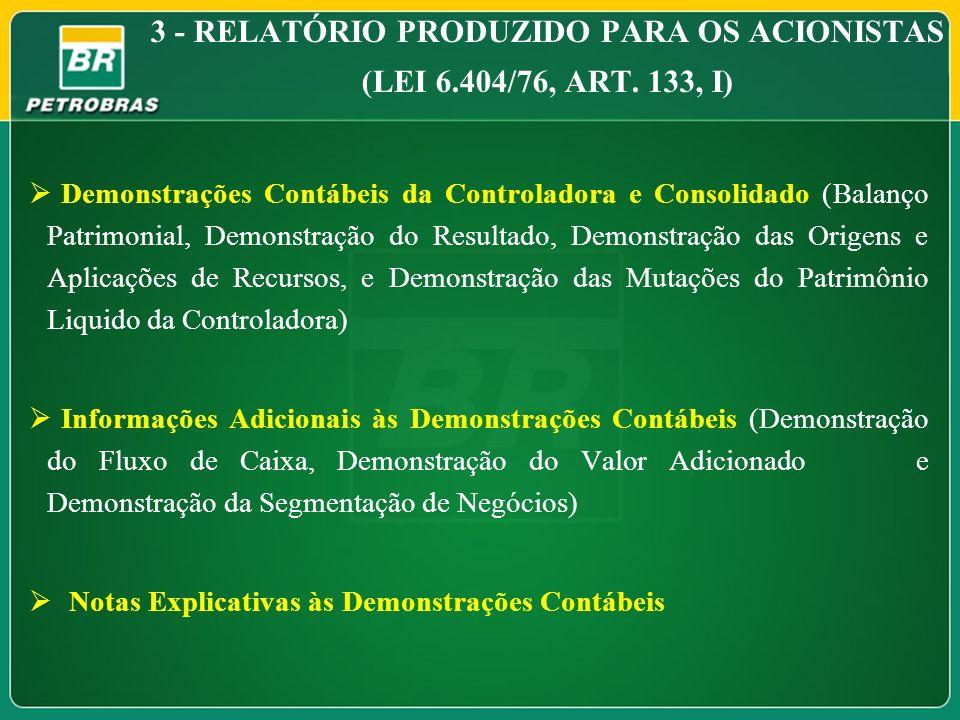 Demonstrações Contábeis da Controladora e Consolidado (Balanço Patrimonial, Demonstração do Resultado, Demonstração das Origens e Aplicações de Recurs