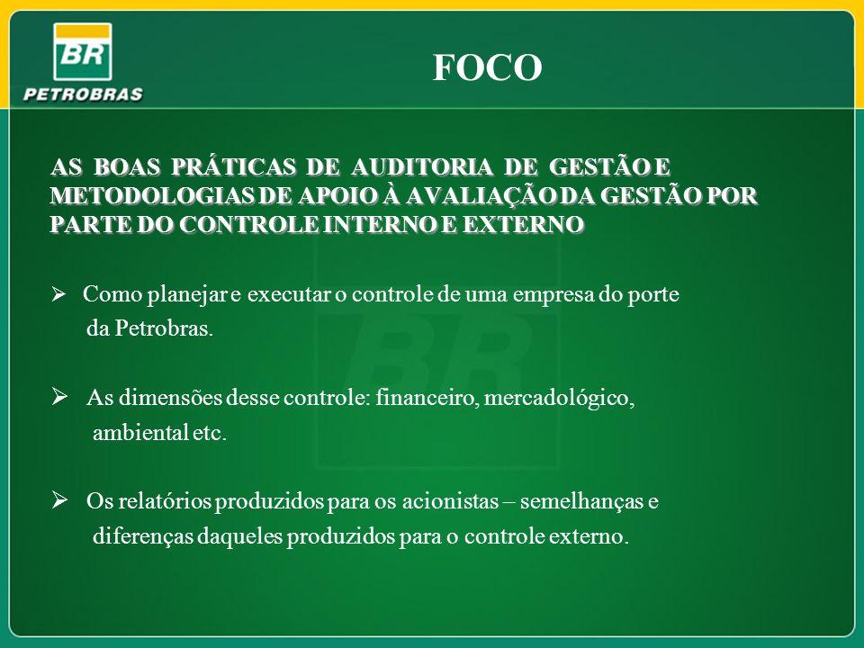 ATUAÇÃO DA PETROBRAS PERFIL A Petrobras é uma Sociedade Anônima de Capital Aberto, que atua no mercado brasileiro e internacional, de forma integrada e especializada nos seguintes segmentos relacionados à indústria de óleo, gás e energia: exploração e produção; refino, comercialização, transporte e petroquímica; distribuição de derivados; gás natural e energia.