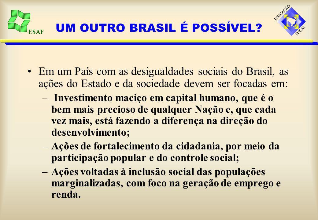 ESAF UM OUTRO BRASIL É POSSÍVEL.
