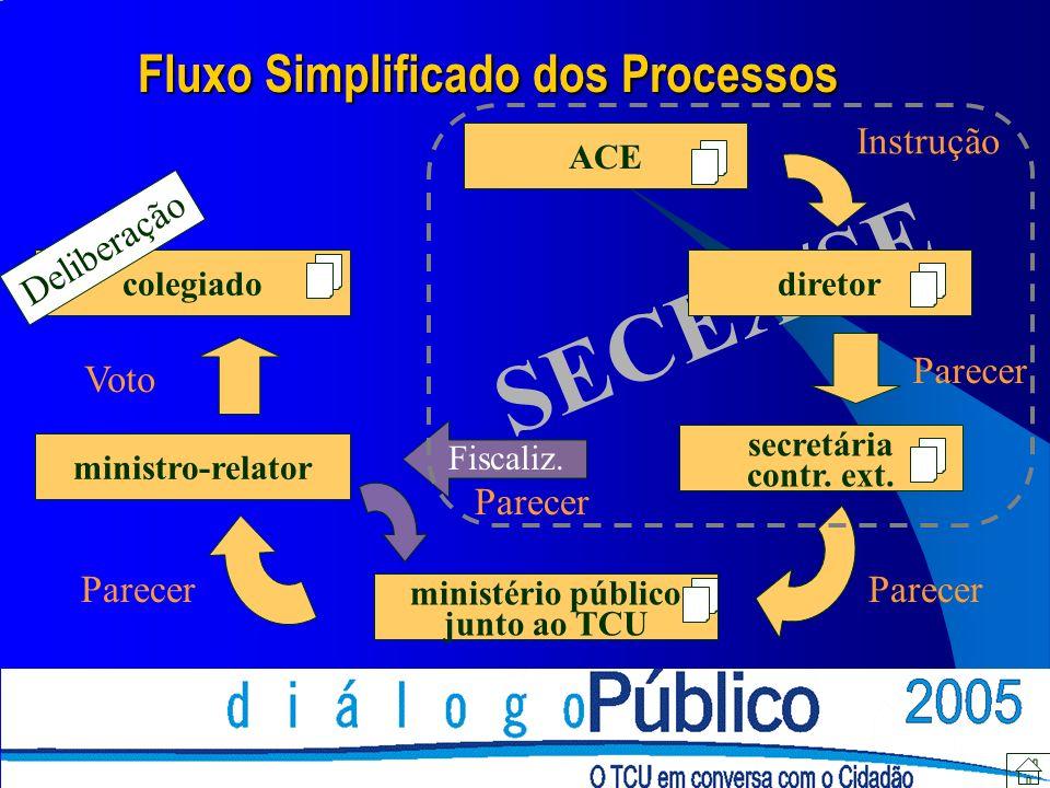 SECEX/SE ACE diretor secretária contr. ext.