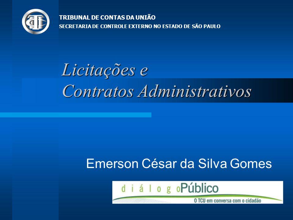 Sumário Conceitos Preliminares Competência Legislativa Municipal Principais falhas e irregularidades Contratação Direta