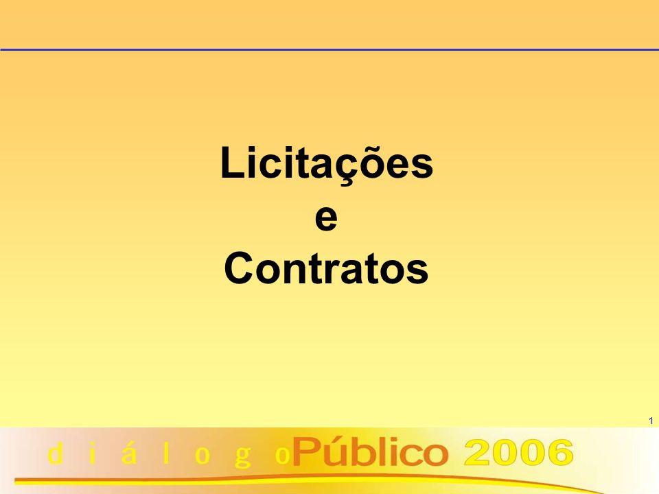 1 Licitações e Contratos