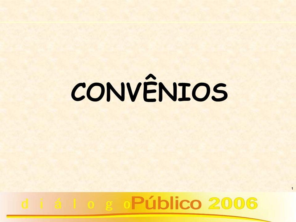 1 CONVÊNIOS