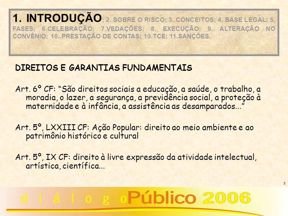 3 DIREITOS E GARANTIAS FUNDAMENTAIS Art. 6º CF: São direitos sociais a educação, a saúde, o trabalho, a moradia, o lazer, a segurança, a previdência s