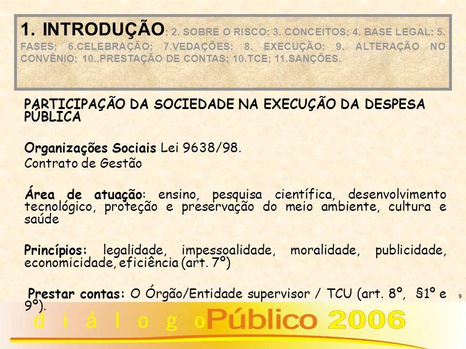 20 Plano de trabalho pouco detalhado Decisão 994/2002 - Plenário Caracterização insuficiente da situação de carência Projeto básico ausente ou incompleto (0bras e serviços) - Acórdão 1308/2003 - 2ª Câmara Falta de comprovação da existência de contrapartida Orçamento subestimado ou superestimado CONSEQÜÊNCIA: não aprovação do convênio PROBLEMAS IDENTIFICADOS PELO TCU NA PROPOSIÇÃO 1.