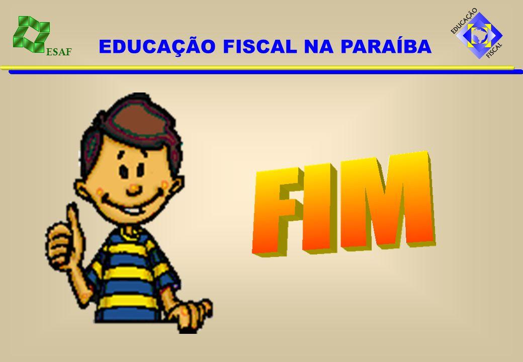 ESAF EDUCAÇÃO FISCAL NA PARAÍBA