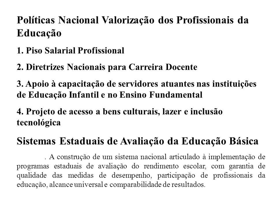 Políticas Nacional Valorização dos Profissionais da Educação 1.