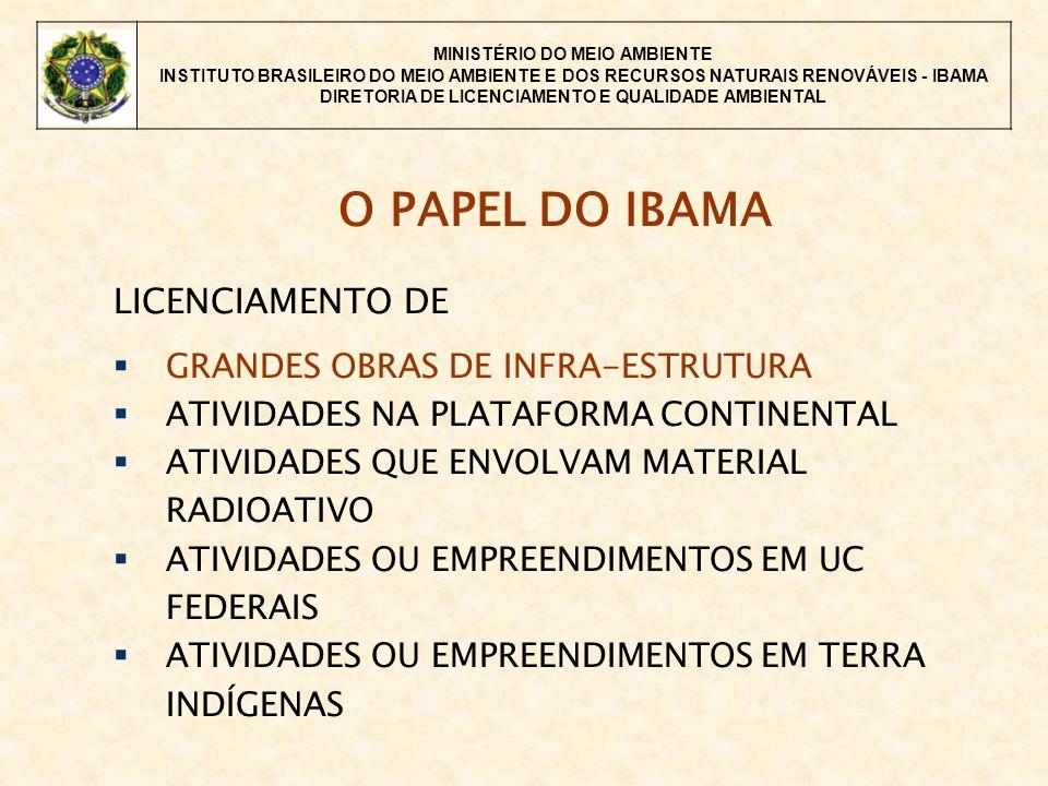 MINISTÉRIO DO MEIO AMBIENTE INSTITUTO BRASILEIRO DO MEIO AMBIENTE E DOS RECURSOS NATURAIS RENOVÁVEIS - IBAMA DIRETORIA DE LICENCIAMENTO E QUALIDADE AMBIENTAL ago: MI encaminha os PBAs e cumprimento dos demais condicionantes da LP e requer a LI PRÓXIMAS FASES MI: Publicação do requerimento da LI IBAMA: Análise da documentação Emissão da LI ou solicitação de reapresentação de programas e atendimento aos condicionantes