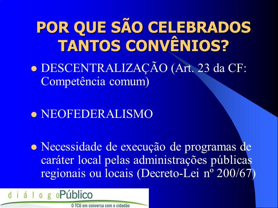 DEFINIÇÃO DE CONVÊNIO FORMA DE AJUSTE ENTRE O PODER PÚBLICO E ENTIDADES PÚBLICAS OU PRIVADAS PARA A REALIZAÇÃO DE OBJETIVOS DE INTERESSE COMUM, MEDIANTE MÚTUA COLABORAÇÃO.