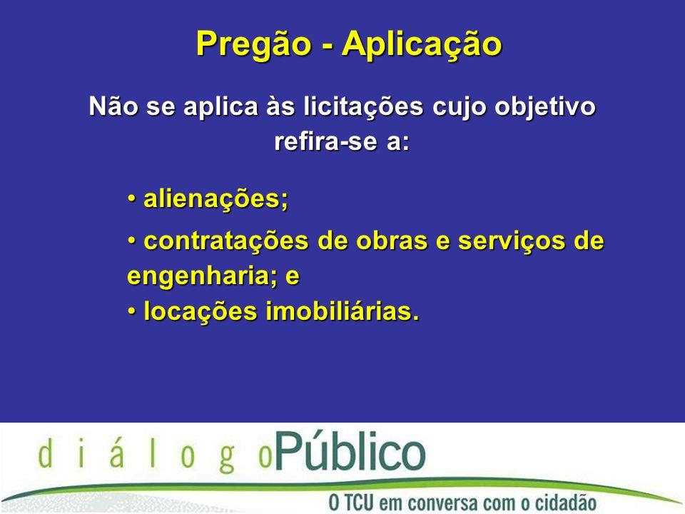Pregão - fase interna Pregão - fase interna Deve ser verificada: è A necessidade do objeto; è O valor estimado da contratação.