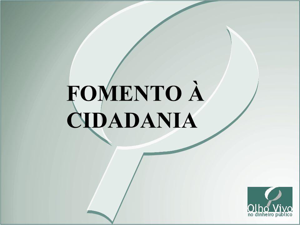 FOMENTO À CIDADANIA