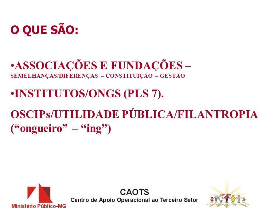 MINISTERIO PUBLICO - INTERESSE COLETIVO DIREITOS E DEVERES SOCIAIS E DE CIDADANIA CONSTITUIÇÃO FEDERAL (Arts.