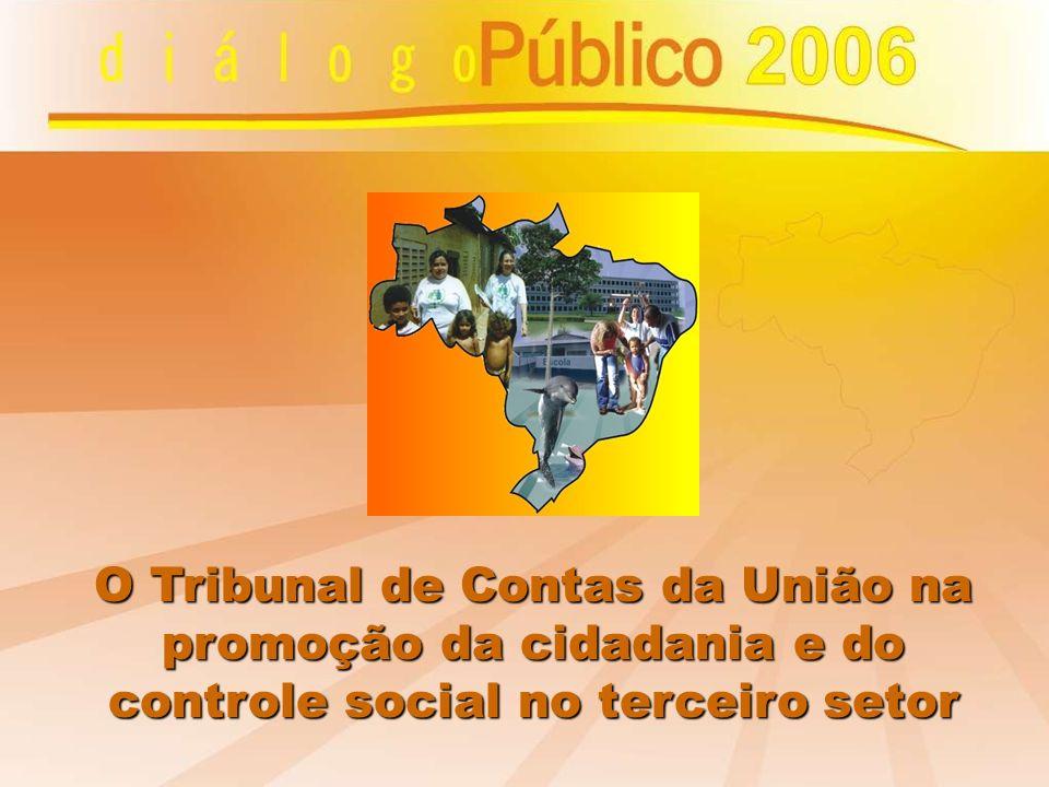 O Tribunal de Contas da União na promoção da cidadania e do controle social no terceiro setor