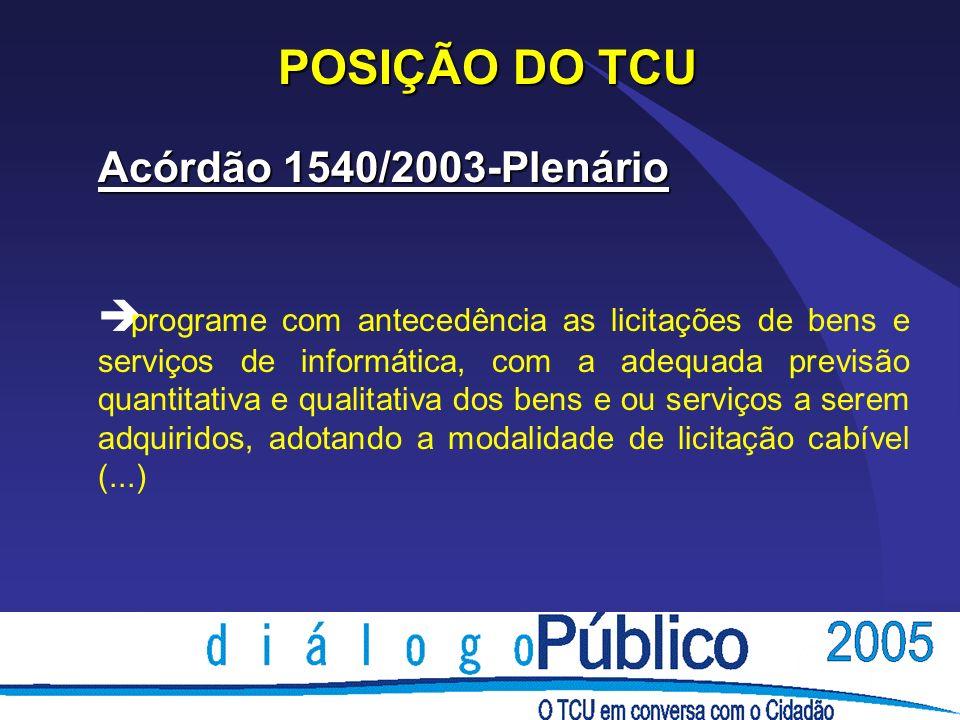 Posição do TCU Decisão 955/2002-Plenário è Não efetue pagamento antecipado de despesas, por contrariar o mandamento legal expresso no art.