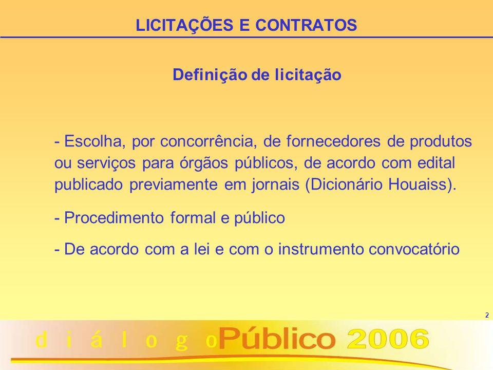 3 O entendimento inicial era pela não obrigatoriedade: - Constituição Federal de 1988 - Lei nº 8.666/1993 (Estatuto das Licitações e Contratos) - Instrução Normativa/STN nº 01/1997 (Convênios) LICITAÇÕES E CONTRATOS A obrigatoriedade de licitar para as entidades privadas