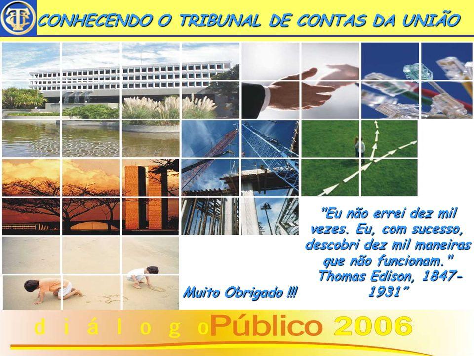 17 CONHECENDO O TRIBUNAL DE CONTAS DA UNIÃO CONHECENDO O TRIBUNAL DE CONTAS DA UNIÃO www.tcu.gov.br Sede: Setor de Administração Federal Sul - Brasíli
