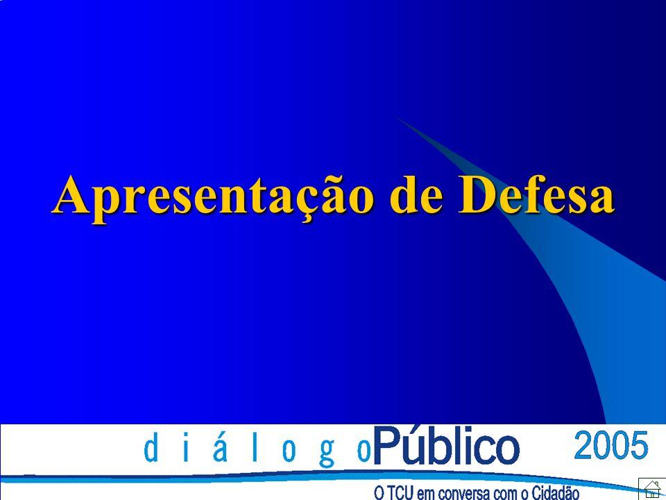 Apresentação de Defesa