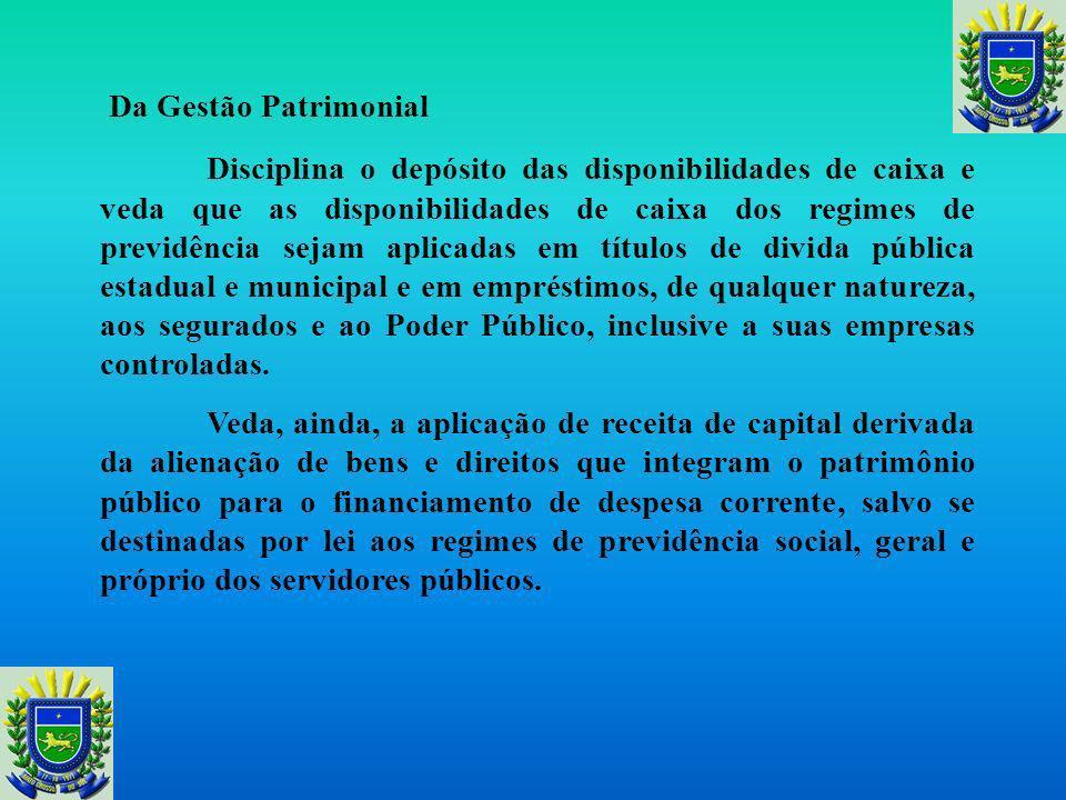 Do Restos a Pagar É o ponto nodal da Lei, e trata dos restos a pagar, disciplinando que aos titulares dos poderes ou órgãos da Federação, é vedado nos