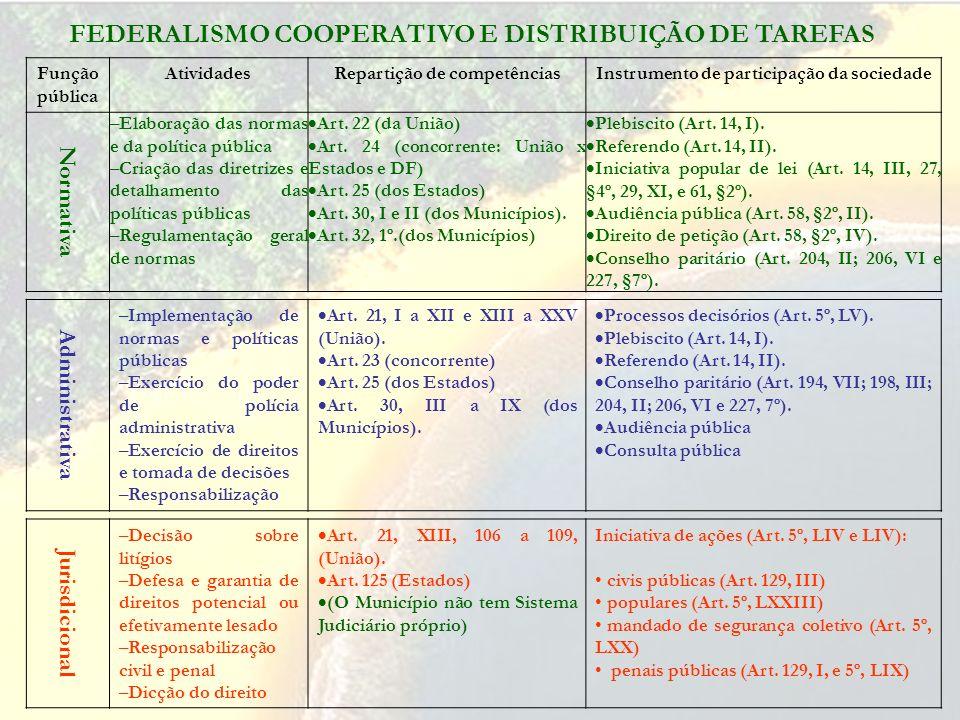 GESTÃO AMBIENTAL PÚBLICA NO BRASIL Princípios Informadores Participação política Informação Publicidade Transparência Eficiência Eficácia Controle soc