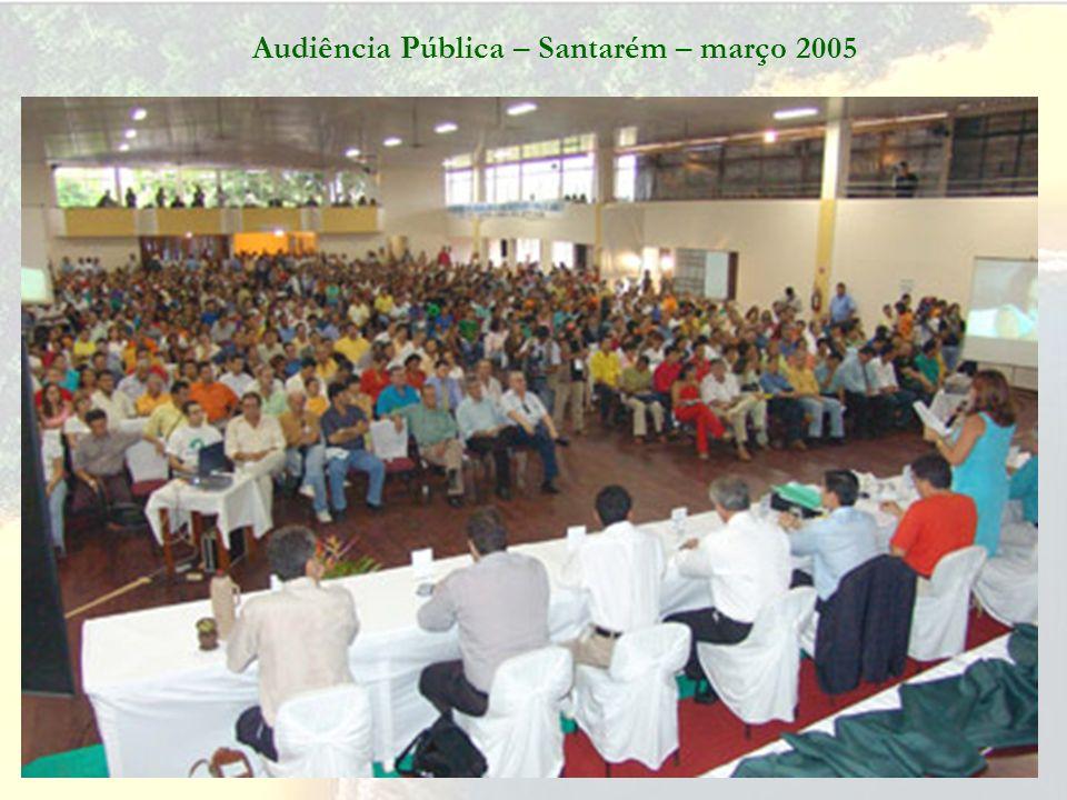 Audiência Pública – Juruti sede – março 2005 Licenciamento do Projeto Juruti