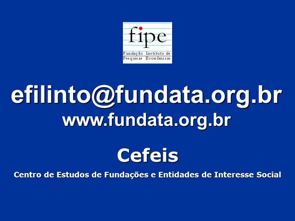 efilinto@fundata.org.brwww.fundata.org.brCefeis Centro de Estudos de Fundações e Entidades de Interesse Social