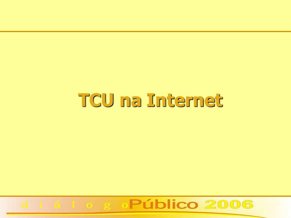 TCU na Internet