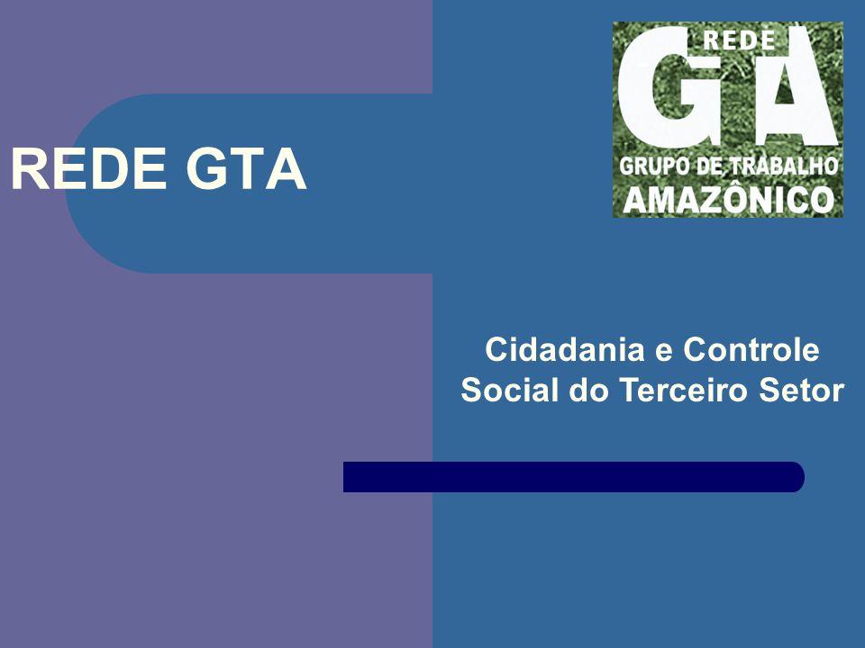 REDE GTA Cidadania e Controle Social do Terceiro Setor